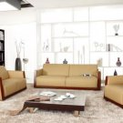 3210 - Modern Bonded Leather Sofa Set