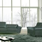 8006 - Modern Bonded Leather Sofa Set