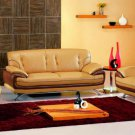 7880 - Modern Bonded Leather Sofa Set