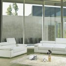 8020 - Modern Bonded Leather Sectional Sofa