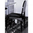 AA018 Modern Black Lacquer Chair