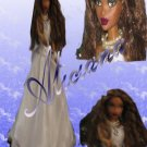 Aliciana-OOAK wedding fashion doll forerly known as Barbie