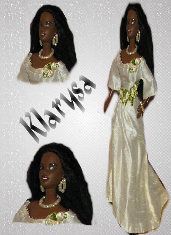 Klarysa-OOAK wedding fashion doll formerly known as Christie Barbie