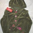 Gymboree Peruvian Doll Size 8 Hoodie Jacket NWT