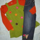 Gymboree All About Buttons ensemble