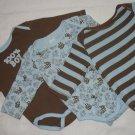 Gymboree Brand New Baby Onesies, Size 3-6mo.