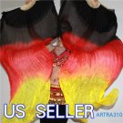 PAIRS 1.5M BELLY DANCE THREE COLORS 100% SILK FAN VEILS