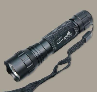 UltraFire 1000 Lumens CREE XM-L T6 LED Black Flashlight Torch