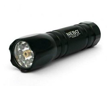 Nebo Tools CSI Tactical 8 LED Flashlight Torch with Laser Pointer
