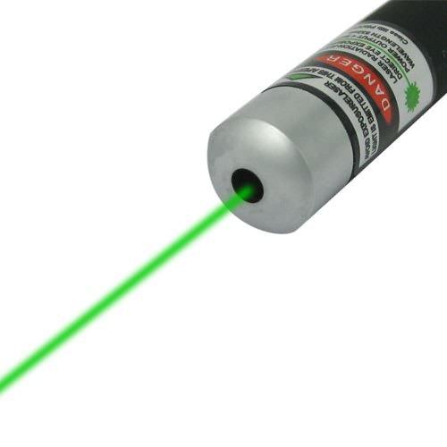 Green Beam Laser Pointer Pen 50mw 405nm (Black Color)