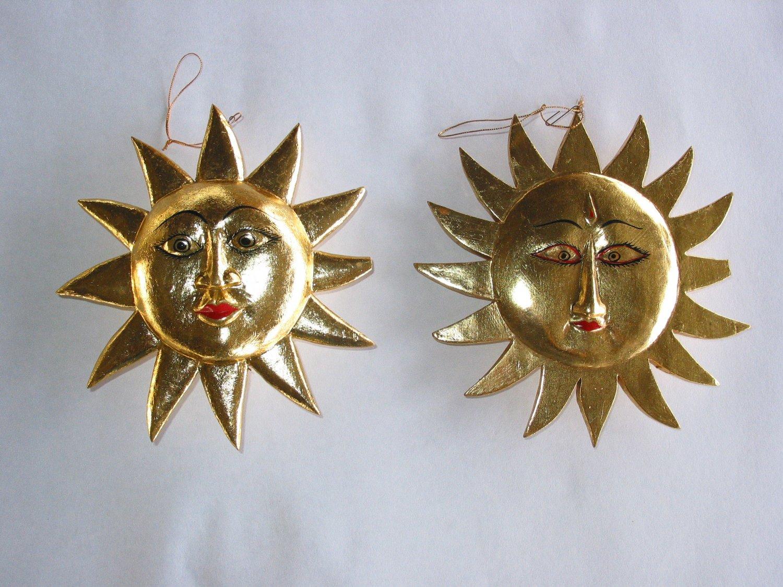 Medium Gold Sun