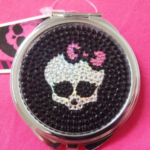 """MONSTER HIGH JEWELED """"BLING"""" MIRROR/COMPACT"""
