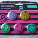 Monster High 5 Freaky Flip Pins
