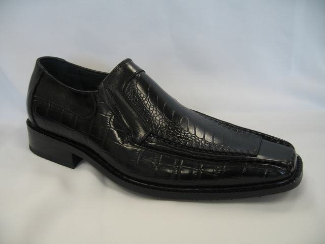 Black Geuine Leather Dressing Shoes