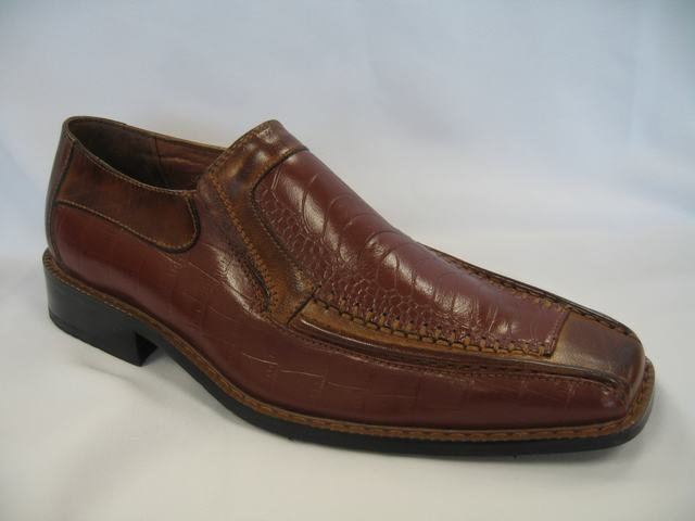 Brown Geuine Leather Dressing Shoes