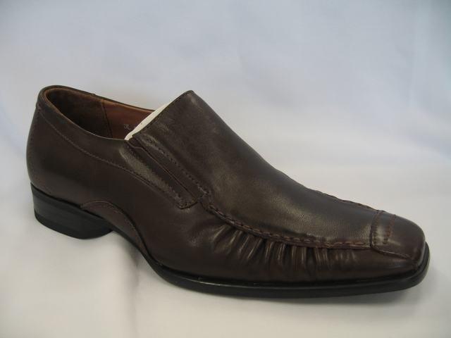 Dark Brown Geuine Leather Dressing Shoes