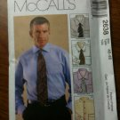 McCall&#39;s 2638 Men&#39;s Shirt Size 50-52
