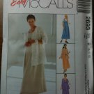 McCall&#39;s 2693 Maternity Unlined Jacket and Dress or Jumper in Two Lengths Size C 10-12-14