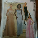 McCall's 9225 Misses' Lined Dresses in Two Lengths and Scarf Size AX 4-6-8