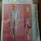 McCall's 2701 Misses'/Miss Petite Lined Jacket, Top, Pants and Skirt Size C 10-12-14