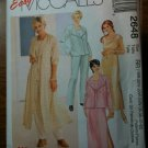 McCall's 2648 Women's Duster or Jacket, Dress or Top and Pull-on Pants Size RR