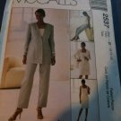McCall's 2537 Misses' Lined Jacket, Top, Pants and Skirt Size B 8-10-12