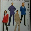 McCall's 2488 Misses' Tunics and Pull-on Pants Size Z XLG-XXLG