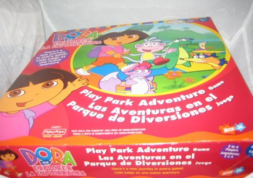 Dora The Explorer Play Park Adventure Board Game