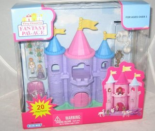 Tiny Dreams Fantasy Palace Princess Playset NIB