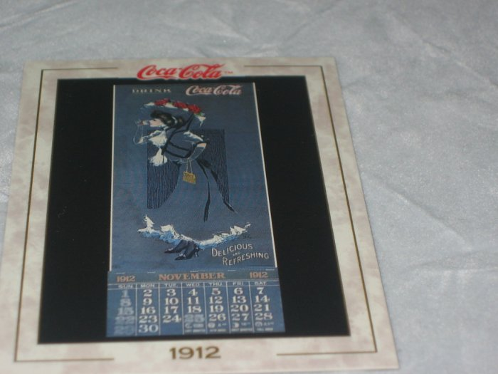 Hamilton King Coca Cola Card Calendar #17