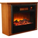 Amish Inspired Infrared Fireplace Heater,Heats 1500 sq. ft