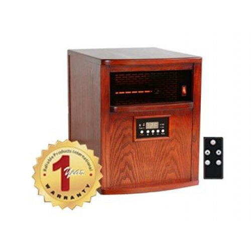 Heat Smart Liberty 1500W Solid Wood Infrared Heater