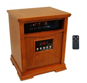 Lifesmart Electric Quartz 1800 Sq Ft Infrared Heater 5600 BTU, NOT 5100 BTU!
