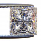 1.0CT PRINCESS CUT RUSSIAN LAB DIAMOND SIM 5.5 X 5.5MM