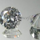 Pair of 1.0 CT ROUND CUT RUSSIAN LAB DIAMOND SIM 6.5MM