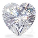 HEART CUT RUSSIAN LAB DIAMOND 11 MM X 11 MM