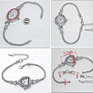 Charm bead ladies watches