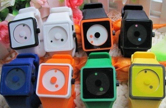 Color silicone watch x 20