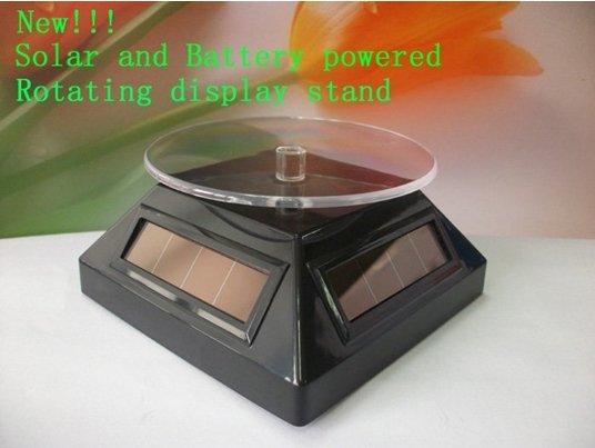 Solar rotating display x 5