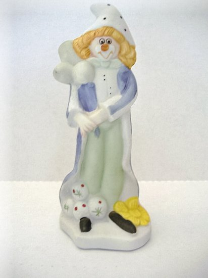 Jamestown China Clown Figurine