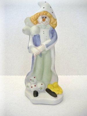 Jamestown China Clown Figurine