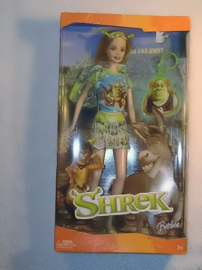 Barbie Walt Disney Shrek Never Opened