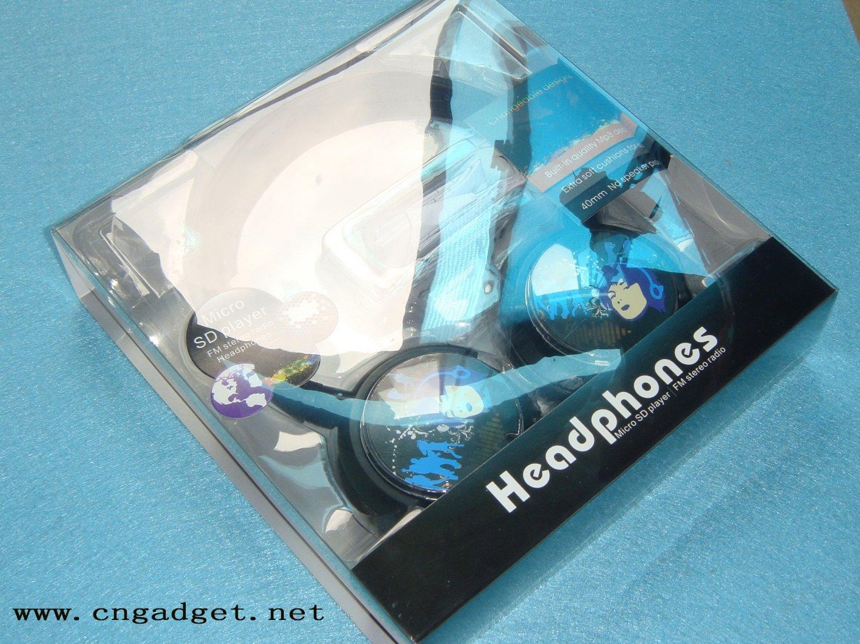 WIRELESS Micro SD HEADPHONE HEADSET STEREO SPORT MP3 FM CS-T58