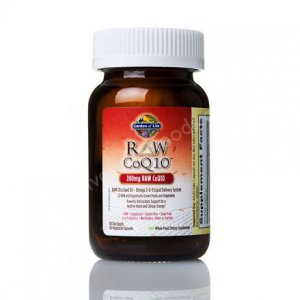 Garden of Life Raw CoQ10 200 mg 60 Veg Capsules