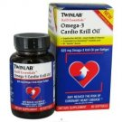 Twinlab Krill Essentials Omega 3 Cardio Krill Oil 60 Softgels 625mg