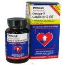 Twinlab Krill Essentials Omega 3 Cardio Krill Oil 60 Softgels