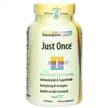 Rainbow Light Just Once Multivitamin Tablets 120 tablets