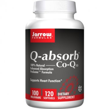 Jarrow Formulas Q absorb CoQ10 100 mg 120 Softgels LOWEST PRICE Free Shipping