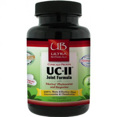 Ultra Botanicals UC-II Joint Formula 60 Capsules LOWEST PRICE Free Shipping