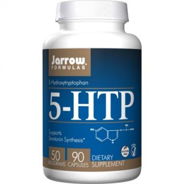 Jarrow Formulas - 5-HTP 50 mg. - 90 Capsules X 2